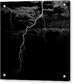 Stormy Night Acrylic Print by Brad Scott