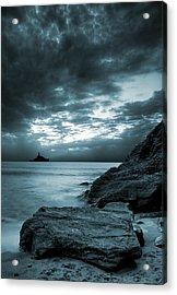 Stormy Ocean Acrylic Print by Jaroslaw Grudzinski