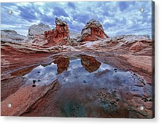 Stormy Reflection Acrylic Print