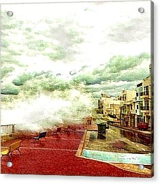 Stormy Sea Acrylic Print