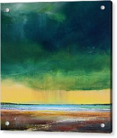 Stormy Seas Acrylic Print by Toni Grote