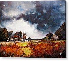 Stormy Skies Acrylic Print by Geni Gorani