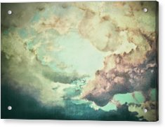 Stormy Sky Acrylic Print by AugenWerk Susann Serfezi