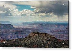 Stormy Sky Past Bridgers Knoll Acrylic Print
