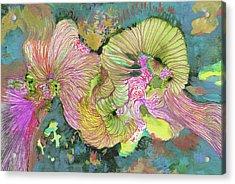 Stormy - #ss18dw016 Acrylic Print by Satomi Sugimoto
