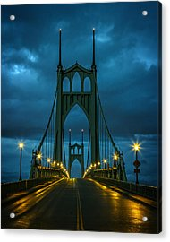 Stormy St. Johns Acrylic Print