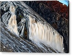 Stormy Waters Acrylic Print
