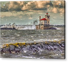Stormy Waters Acrylic Print