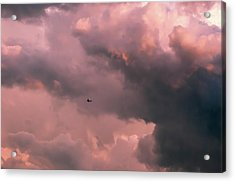 Stormy Weather Acrylic Print by Carolyn Dalessandro
