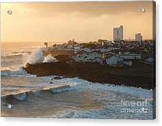 Stormy Weather In Azores Acrylic Print