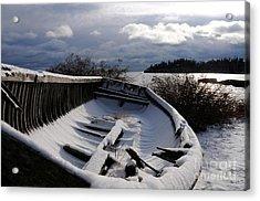 Stormy Weather Acrylic Print by Sandra Updyke
