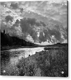 Acrylic Print featuring the photograph Stormy Weather by Vladimir Kholostykh