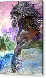 Stormy Wind Horse Acrylic Print