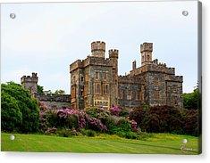 Acrylic Print featuring the photograph Stornoway Castle by Rasma Bertz