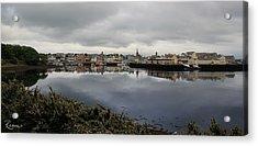 Acrylic Print featuring the photograph Stornoway Panorama by Rasma Bertz