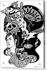Story For Soli Acrylic Print by Yelena Tylkina