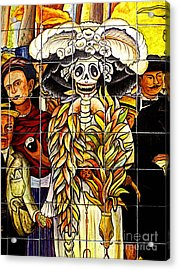 Story Of Mexico 7 Acrylic Print by Mexicolors Art Photography