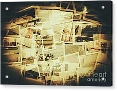 Storyboard Of Past Memories Acrylic Print
