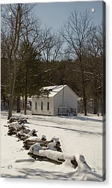 Storys Creek School Acrylic Print