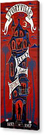 Storyville Red Light District Acrylic Print