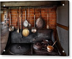 Stove - The Gourmet Chef  Acrylic Print by Mike Savad