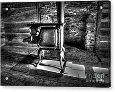 Acrylic Print featuring the photograph Stove by Douglas Stucky