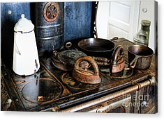 Stove Top Cooking Acrylic Print