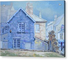 Stow On The Wold Acrylic Print by Carol Strickland