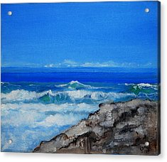 Stradbroke Island Acrylic Print