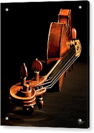 Stradivarius From The Top Acrylic Print by Endre Balogh