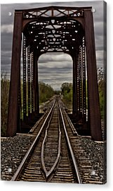 Straight And Narrow Acrylic Print by Jill Smith