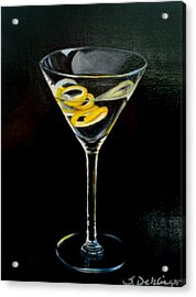 Acrylic Print featuring the painting Straight Up And Twisted by Susan Dehlinger