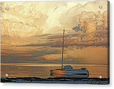 Acrylic Print featuring the photograph Stranded by HH Photography of Florida
