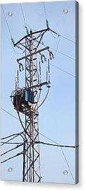 Stranded - Pylon Tower Acrylic Print