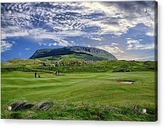 Strandhill Golf Course And Knocknarae Acrylic Print