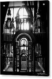 Strange Cage Acrylic Print by Melissa Wyatt