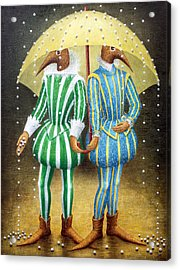 Strange Rain Acrylic Print
