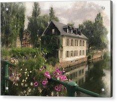 Strasbourg Bridge Acrylic Print