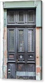 Strasbourg Door 06 Acrylic Print