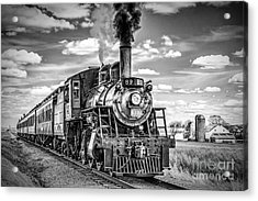 Acrylic Print featuring the photograph Strasburg Canadian National 89 by Nick Zelinsky