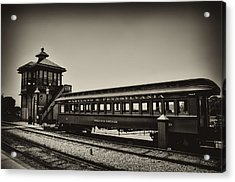 Strasburg Rail Road Acrylic Print by Bill Cannon