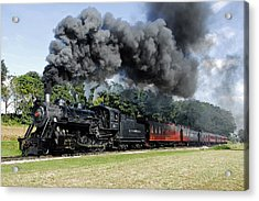 Strasburg Railroad Acrylic Print