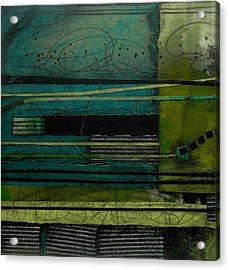 Strata No 1 Acrylic Print by Laura  Lein-Svencner