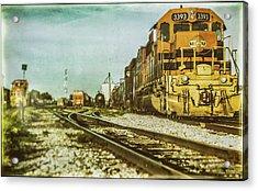 Stratford Rail Yard 2016 Acrylic Print