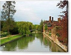 Stratford Upon Avon 2 Acrylic Print by Douglas Barnett