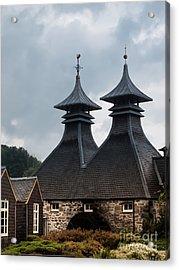 Acrylic Print featuring the photograph Strathisla Whisky Distillery Scotland #2 by Jan Bickerton
