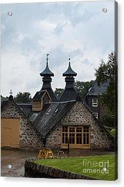 Acrylic Print featuring the photograph Strathisla Whisky Distillery Scotland #4 by Jan Bickerton