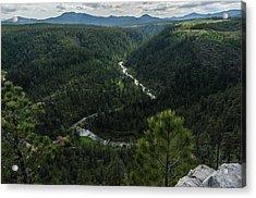 Stratobowl Overlook On Spring Creek Acrylic Print