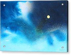 Stratos Moon Acrylic Print