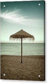 Acrylic Print featuring the photograph Straw Shader by Carlos Caetano